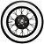 "BF Goodrich | Diagonais Faixa Branca de 2 1/2"" | 440 / 450-21 (PAR) - Imagem 3"