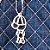 Bolsa Maternidade Matelassê Jeans Com Caramelo - Baby Bless - Imagem 2