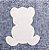 Frasqueira Térmica Cinza Mescla com Ursinho Bege - Baby Bless - Imagem 4