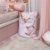 Saco Organizador p/ Bebê Grande Birds Rosa - Coração de Mãe - Imagem 2