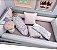 Toalha de Banho com Capuz Diamante Rosa com Verde - Coração de Mãe - Imagem 3