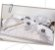 Toalha de Banho com Capuz Clássicos Bege e Cinza - Coração de Mãe - Imagem 3