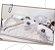 Cobertor para Bebê Peluciado Clássicos Bege e Cinza - Coração de Mãe - Imagem 2