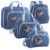 Kit Bolsas de Maternidade Havana Azul - Just Baby (4 peças) - Imagem 1