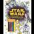 Star Wars Doodles Ler e Colorir com lápis - Imagem 1