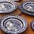 Aparelho de Jantar e Chá 30 peças - Flamingo Blue Willow - Oxford Porcelanas - Imagem 1