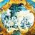 """DEMOGOLET """"Abraão regala aos três anjos e estes lhe predizem o nascimento de Isac"""" 100 x 100 (AST) - Imagem 1"""