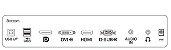 "Monitor Lcd Led 15,6"" Touch 162B9T 75Hz Vga/Dvi/Hdmi/Usb - Philips - Imagem 5"
