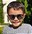 Óculos de Sol Infantil Flexível Redondo Esportivo com Lente Polarizada e Proteção UV400 Preto e Vermelho - Imagem 5