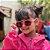 Óculos de Sol Infantil Flexível Redondo com Lente Polarizada e Proteção UV400 Pink e Rosa - Imagem 5