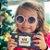 Óculos de Sol Infantil com Proteção UV400 Flor Acetato Teen Rosa Nude - Imagem 7