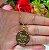 Gargantilha Mandala Personalizada 1 Filho(a) - Banhado a Ouro 18k - Imagem 3
