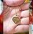 Gargantilha Coração Pequeno Personalizado 1 Filho(a) - Banhado a Ouro 18k - Imagem 5