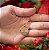 Gargantilha Coração Pequeno Personalizado Iniciais Casal - Banhado a Ouro 18k - Imagem 2
