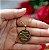 Gargantilha Mandala Personalizada Nomes Casal - Banhado a Ouro 18k - Imagem 4