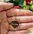 Gargantilha Coração Pequeno Personalizado com Nome ou Inicial - Banhado a Ouro 18k - Imagem 1