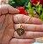 Gargantilha Coração Pequeno Personalizado com Nome ou Inicial - Banhado a Ouro 18k - Imagem 2