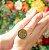 Gargantilha Mandala Personalizada Pai Nosso Católico - Banhado a Ouro 18k - Imagem 2