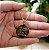 Gargantilha Mandala Personalizada Ho'oponopono - Banhado a Ouro 18k - Imagem 3