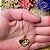 Gargantilha Coração Pequeno Personalizado Fotogravação - QUALQUER FOTO - Banhado a Ouro 18k - Imagem 5