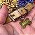 Pingente Osso para coleira PETS com gravação frente e verso - Banhado a Ouro 18k - Imagem 3