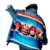 Jaqueta Jeans Oversized Customizada Red Hot Chili Peppers - Imagem 2