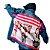 Jaqueta Jeans Oversized Customizada Curtindo A Vida Adoidado - Imagem 2