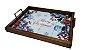 3096PM-037 Bandeja de Azulejo - Merry Christmas - Imagem 1