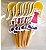Palitos Decorativos para Doces Boneca de Papel - Imagem 1
