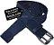 Cinto Masculino Lona Premium 2 Bordas Largura 4cm L39 Az - Imagem 1