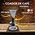Coador de café Individual com filtro de pano (Suporte Marrom) - Imagem 2