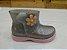Bota Mia Baby Gliter prata/Rosa BB - World Colors - Imagem 1