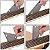 Kit Ferramentas Para Luthier Martelo Lima De Trastes Protetores - Imagem 4