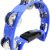 Meia Lua Pandeirola Spanking Com 32 Platinelas Azul - Imagem 2
