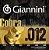 Encordoamento Cordas Para Violão Aço Giannini Cobra 85/15 - Imagem 2