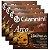 Kit Com 04 Jogos De Cordas Para Violino Tensão Média Arco Giannini - Imagem 1