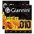 Kit Com 02 Jogos De Cordas Para Violão Aço 010 Acústico Giannini - Imagem 1