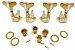 Jogo De Tarrachas Tarraxas Blindada Dourada Para Contra Baixo 4 Cordas 2x2 - Imagem 2