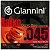 Encordoamento Para Baixo Giannini 045 4 Cordas Geebrl - Imagem 1