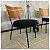 Poltrona Shell Cadeira Decorativa Preto - Overseas - Imagem 7