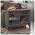 Estante Para Livro Decorativa Cinza Loft - Líder Design - Imagem 2