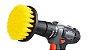 Escova Drill Cerdas Médias com Adaptador para parafusadeira/furadeira- Detailer (Ideal para limpeza de Estofados e Colchões, bancos de tecidos, capertes) - Imagem 1