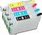 Cartucho Recarregavel para epson XP214 XP411 XP204 XP401 sem tinta  - Imagem 1