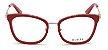 Óculos Guess Vermelho Gatinho Metal Feminino GU 2706 52 068 - Imagem 2