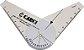 Goniômetro de Precisão Pequeno para Avaliação em Acrílico Carci - Imagem 1