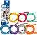 Carci Tubing Tubos Elásticos para Alongamento e Exercícios Amarelo Carci - Imagem 2
