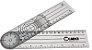 Goniômetro Grande 22 cm x 0,8 mm de espessura PVC Carci - Imagem 1