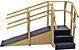 Escada de Canto com Corrimão Duplo e Rampa Carci - Imagem 1
