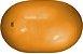 Carci Bean Bola Fisioterapia tipo Feijão para Treinamento 55x80cm Carci - Imagem 1