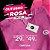 Kit 2 Camisetas Algodão CORTUBA - Baby Look Rosa - Imagem 2